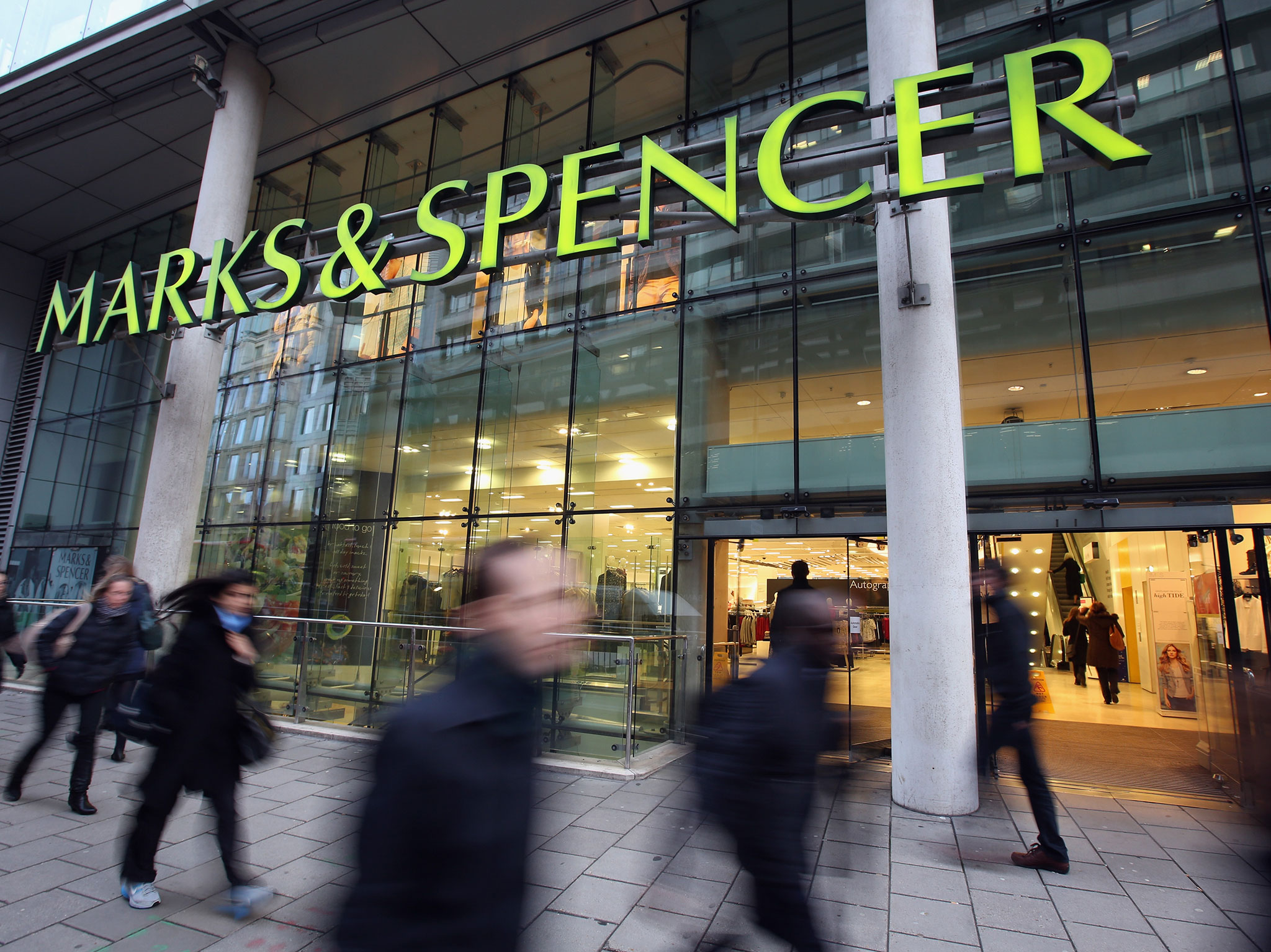 M&S to close stores at home and abroad as profits fall